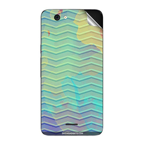 Colourful Waves For MICROMAX A290 Skin