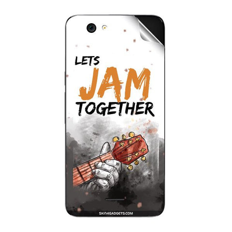 Lets Jam Together For MICROMAX A290 Skin