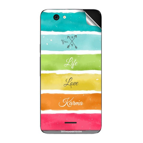 Lets Love Life For MICROMAX A290 Skin