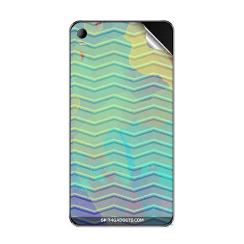 Colourful Waves For MICROMAX A093 Skin
