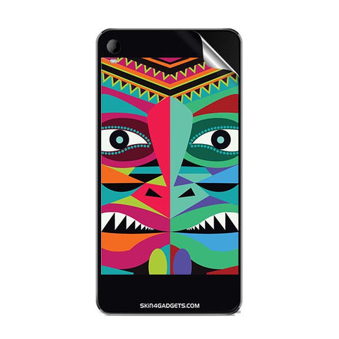 Tribal Face For MICROMAX A093 Skin
