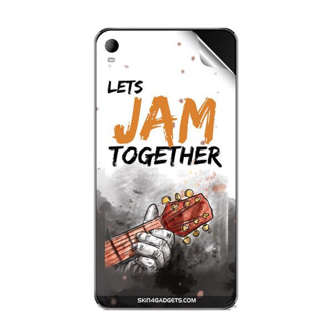 Lets Jam Together For MICROMAX A093 Skin