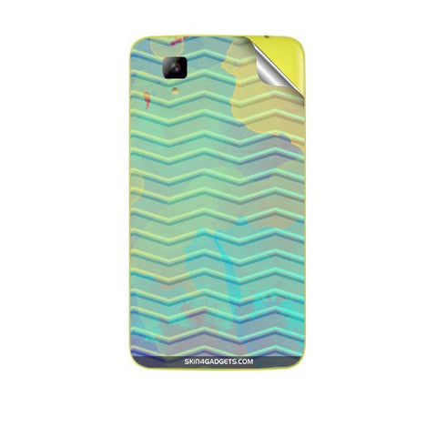 Colourful Waves For MICROMAX A067 BOLT Skin