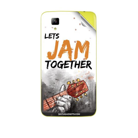 Lets Jam Together For MICROMAX A067 BOLT Skin