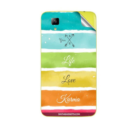 Lets Love Life For MICROMAX A067 BOLT Skin