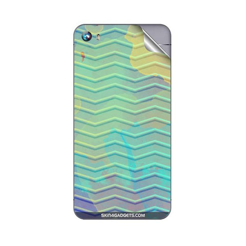 Colourful Waves For MICROMAX A107 CANVAS FIRE 4 Skin
