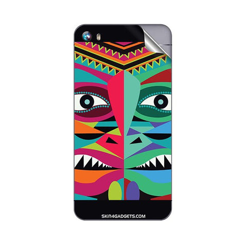 Tribal Face For MICROMAX A107 CANVAS FIRE 4 Skin