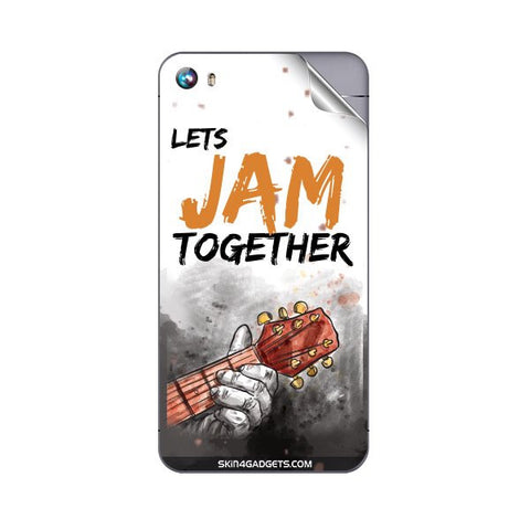 Lets Jam Together For MICROMAX A107 CANVAS FIRE 4 Skin