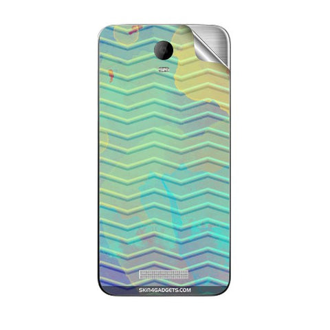 Colourful Waves For MICROMAX AQ5001 CANVAS JUICE 2 Skin
