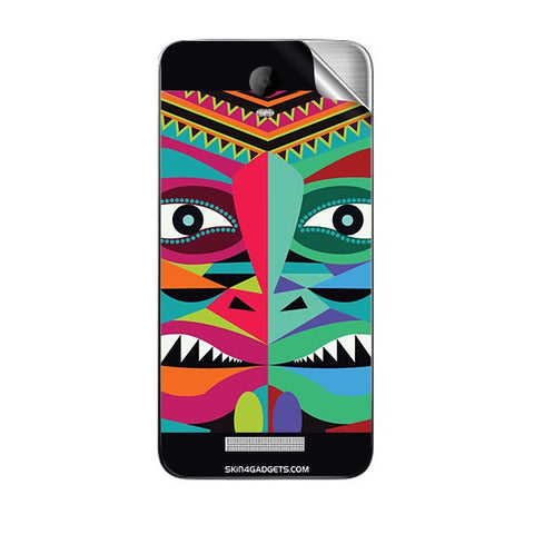 Tribal Face For MICROMAX AQ5001 CANVAS JUICE 2 Skin