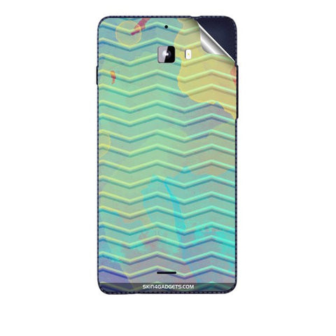 Colourful Waves For MICROMAX A311 CANVAS NITRO Skin