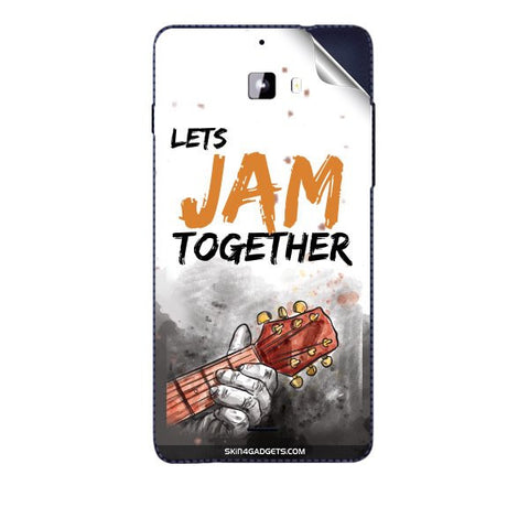 Lets Jam Together For MICROMAX A311 CANVAS NITRO Skin