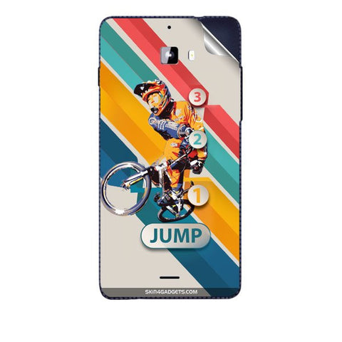 1 2 3 Jump For MICROMAX A311 CANVAS NITRO Skin