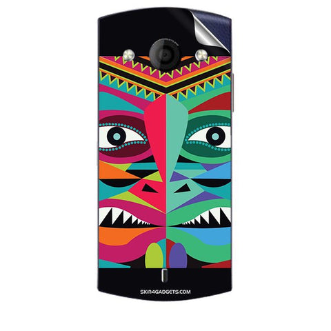 Tribal Face For MICROMAX A255 CANVAS SELFIE Skin
