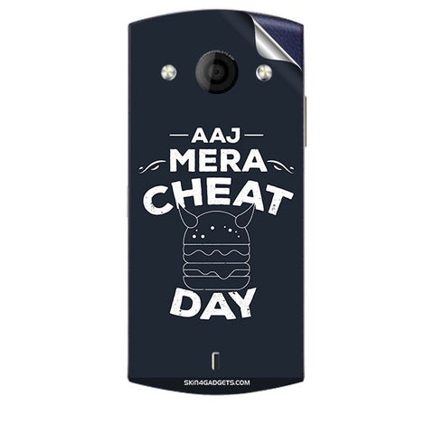 Aaj Mera Cheat Day For MICROMAX A255 CANVAS SELFIE Skin