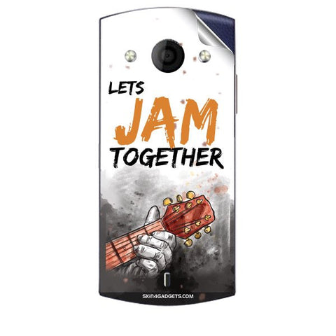 Lets Jam Together For MICROMAX A255 CANVAS SELFIE Skin