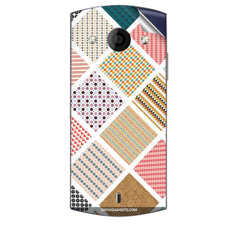 Varied Pattern For MICROMAX A255 CANVAS SELFIE Skin
