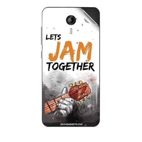 Lets Jam Together For MICROMAX E455 CANVAS NITRO 4G Skin