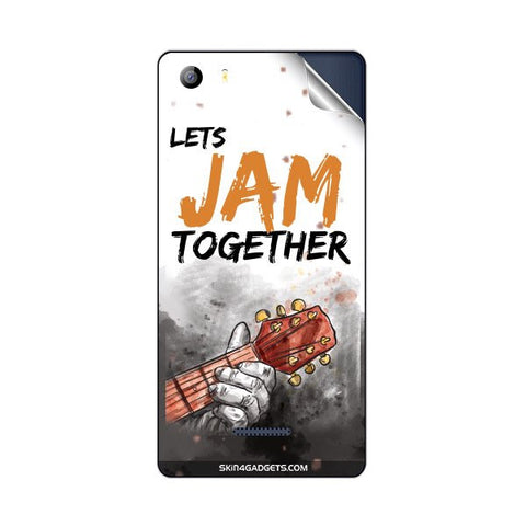 Lets Jam Together For MICROMAX E481 CANVAS 5 Skin
