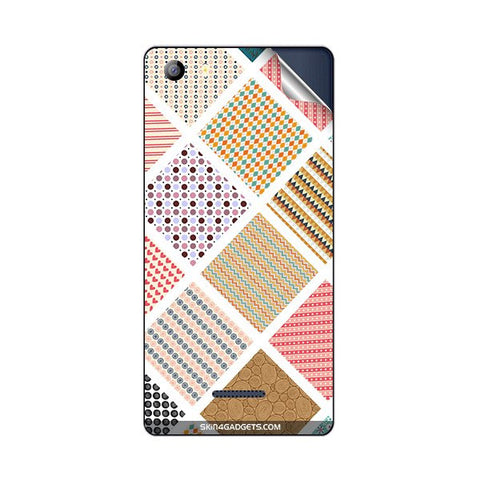 Varied Pattern For MICROMAX E481 CANVAS 5 Skin