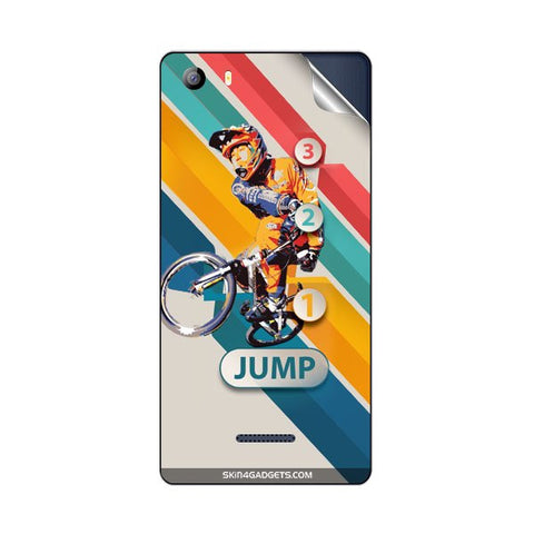 1 2 3 Jump For MICROMAX E481 CANVAS 5 Skin