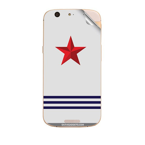 Star Strips For MICROMAX GOLD A300 Skin