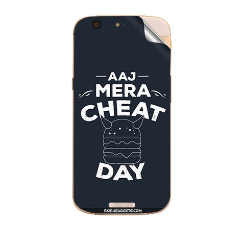 Aaj Mera Cheat Day For MICROMAX GOLD A300 Skin