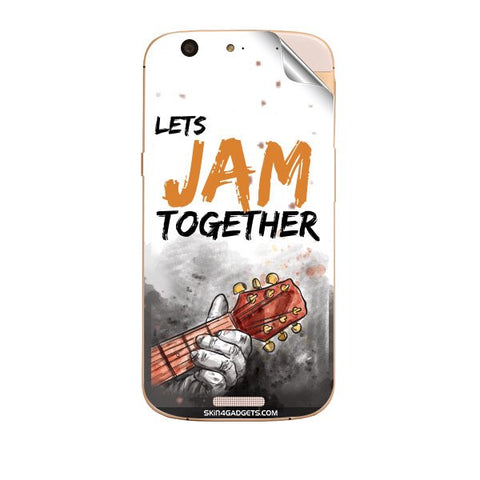 Lets Jam Together For MICROMAX GOLD A300 Skin