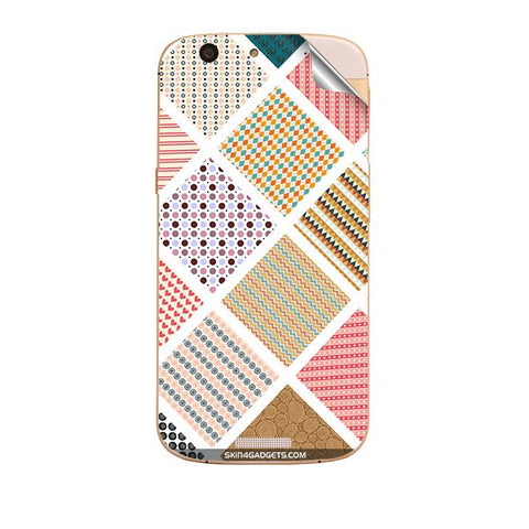 Varied Pattern For MICROMAX GOLD A300 Skin