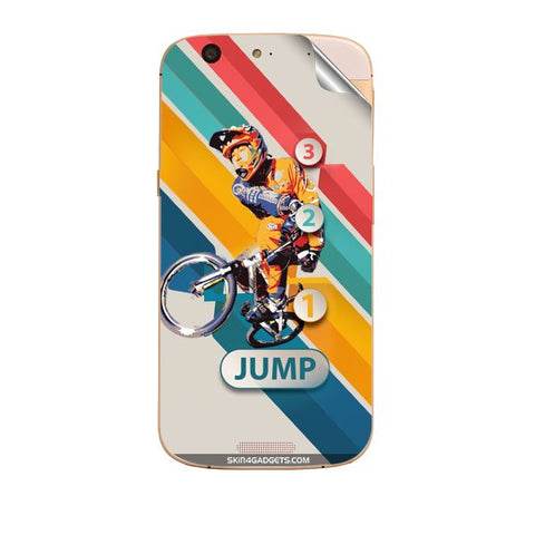 1 2 3 Jump For MICROMAX GOLD A300 Skin