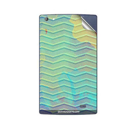 Colourful Waves For MICROMAX P480 CANVAS TAB Skin