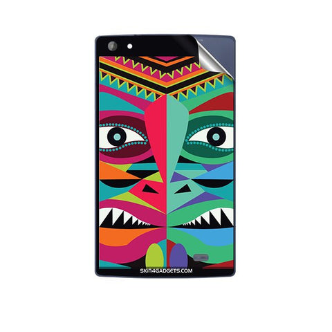 Tribal Face For MICROMAX P480 CANVAS TAB Skin