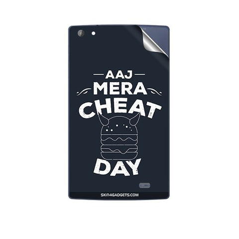 Aaj Mera Cheat Day For MICROMAX P480 CANVAS TAB Skin
