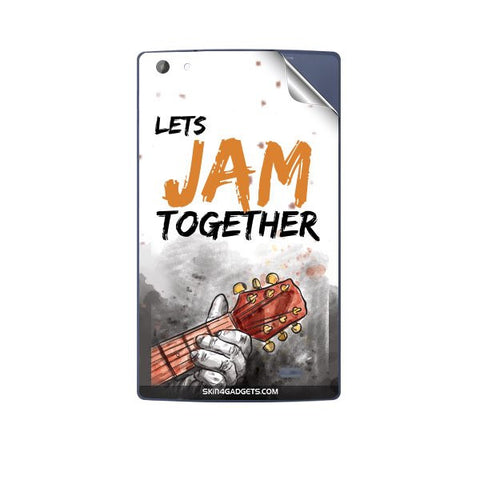 Lets Jam Together For MICROMAX P480 CANVAS TAB Skin
