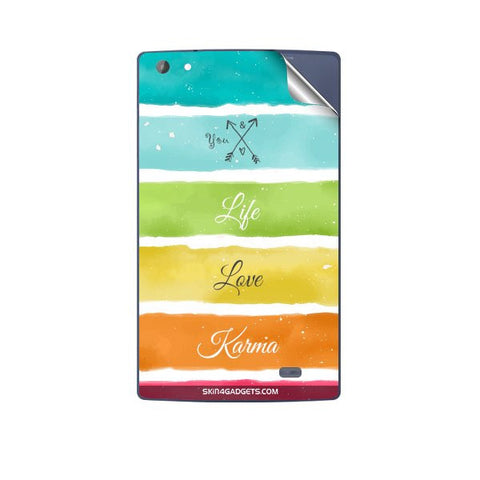 Lets Love Life For MICROMAX P480 CANVAS TAB Skin