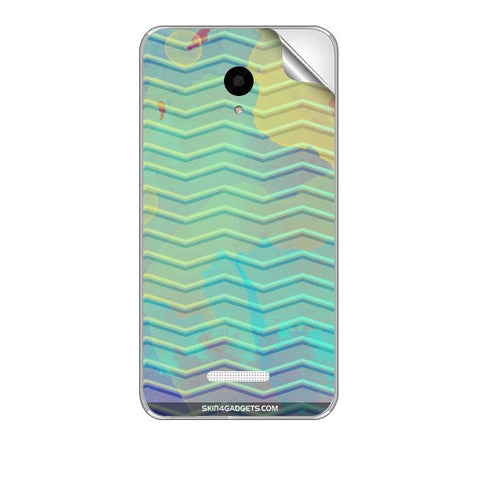 Colourful Waves For MICROMAX Q391 CANVAS DOODLE 4 Skin