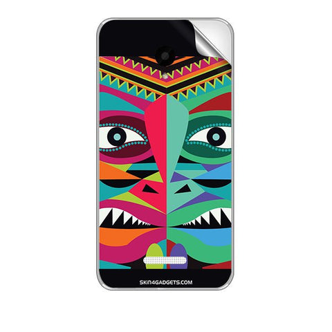 Tribal Face For MICROMAX Q391 CANVAS DOODLE 4 Skin