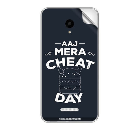 Aaj Mera Cheat Day For MICROMAX Q391 CANVAS DOODLE 4 Skin