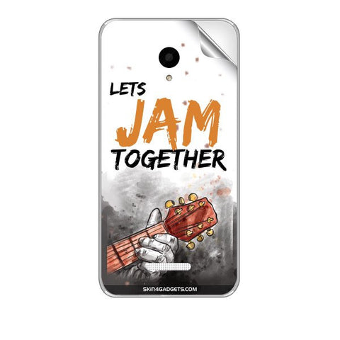 Lets Jam Together For MICROMAX Q391 CANVAS DOODLE 4 Skin