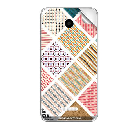 Varied Pattern For MICROMAX Q391 CANVAS DOODLE 4 Skin