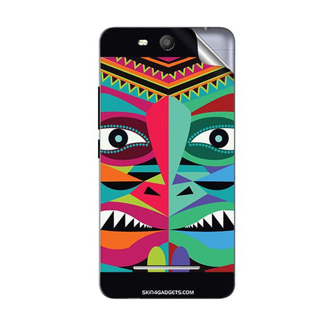 Tribal Face For MICROMAX Q392 CANVAS JUICE 3 Skin