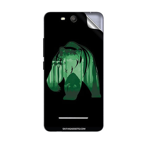 Bear For MICROMAX Q392 CANVAS JUICE 3 Skin