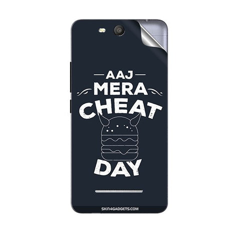 Aaj Mera Cheat Day For MICROMAX Q392 CANVAS JUICE 3 Skin