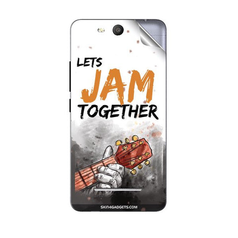 Lets Jam Together For MICROMAX Q392 CANVAS JUICE 3 Skin