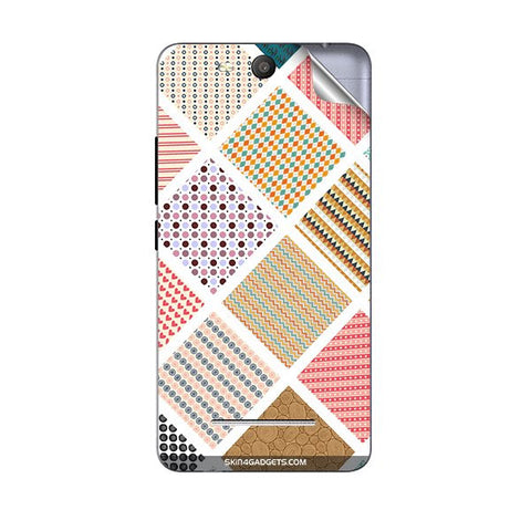 Varied Pattern For MICROMAX Q392 CANVAS JUICE 3 Skin