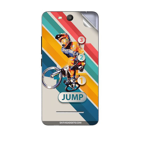 1 2 3 Jump For MICROMAX Q392 CANVAS JUICE 3 Skin