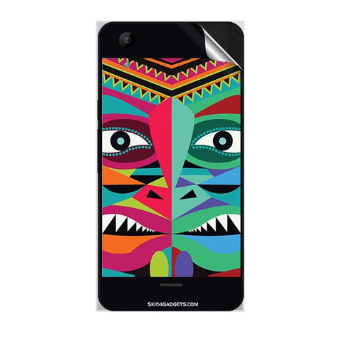 Tribal Face For MICROMAX Q345 CANVAS SELFIE LENS Skin