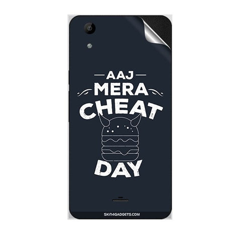 Aaj Mera Cheat Day For MICROMAX Q345 CANVAS SELFIE LENS Skin