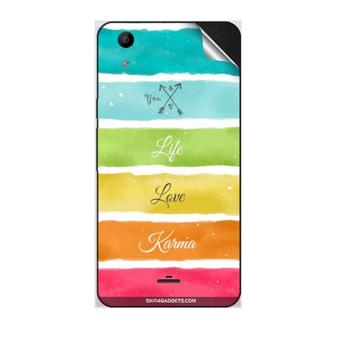 Lets Love Life For MICROMAX Q345 CANVAS SELFIE LENS Skin