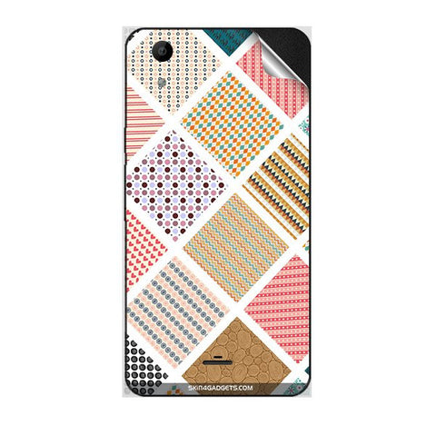 Varied Pattern For MICROMAX Q345 CANVAS SELFIE LENS Skin